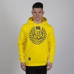 Pánska mikina Mass Denim Sweatshirt Hoody Base yellow