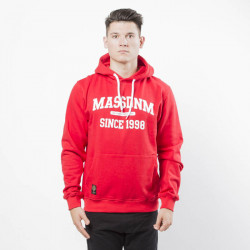 Pánska mikina Mass Denim Sweatshirt Hoody Campus red