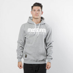 Pánska mikina Mass Denim Sweatshirt Hoody Classics light heather grey