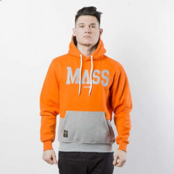Pánska mikina Mass Denim Sweatshirt Hoody Master orange