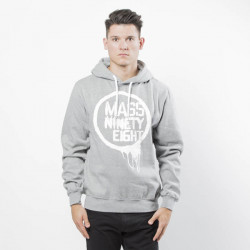 Pánska mikina Mass Denim Sweatshirt Return Hoody light grey heather