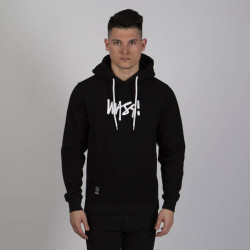 Pánska mikina Mass Denim Sweatshirt Signature Medium Logo Hoody black