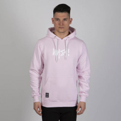 Pánska mikina Mass Denim Sweatshirt Signature Medium Logo Hoody light pink