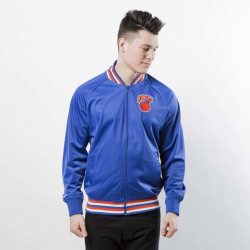 Pánska mikina Mitchell & Ness jacket New York Knicks royal NBA Top Prospect Jacket