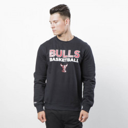 Pánska mikina Mitchell & Ness Sweatshirt Chicago Bulls Crewneck black Pure Shooter Crew