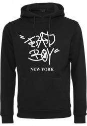 Pánska mikina MR.TEE Bad Boy New York Farba: black,