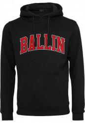 Pánska mikina MR.TEE Ballin 23 Hoody Farba: black, Grösse: XXL