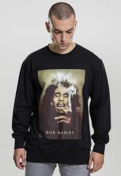 Pánska mikina MR.TEE Bob Marley Smoke Crewneck Farba: black,