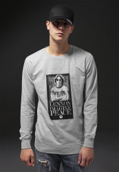 Pánska mikina MR.TEE John Lennon Imagine Crewneck Farba: heather grey,