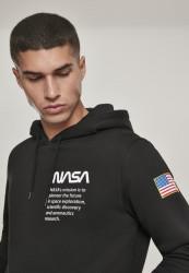 Pánska mikina MR.TEE NASA Definition Hoody Farba: black, #6