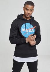 Pánska mikina MR.TEE NASA Hoody Farba: heather grey, #1