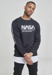 Pánska mikina MR.TEE NASA US Crewneck Farba: white, #1
