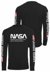 Pánska mikina MR.TEE NASA US Crewneck Farba: white, #7