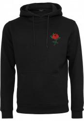 Pánska mikina MR.TEE Rose Hoody Farba: black, Grösse: XXL