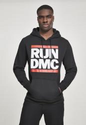 Pánska mikina MR.TEE  Run DMC Logo Hoody Farba: black,
