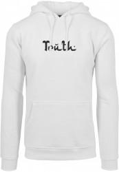 Pánska mikina MR.TEE Truth Hoody Farba: white,