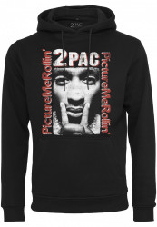 Pánska mikina MR.TEE Tupac Boxed In Hoody black Farba: black,