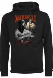 Pánska mikina MR.TEE Tupac Makaveli Hoody Farba: black, Grösse: XS