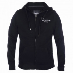 Pánska mikina na zips Cocaine Life Country Hunter Zip Hoodie Black Size: 3XL
