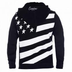 Pánska mikina na zips Cocaine Life Country Hunter Zip Hoodie Black Size: 3XL #1