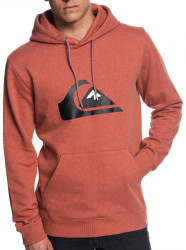 Pánska mikina Quiksilver Big Logo barn red heather
