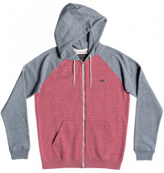 Pánska mikina Quiksilver Everyday Zip garnet heather