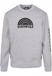 Pánska mikina Southpole Halfmoon Crew Farba: h.grey, Grösse: XXL