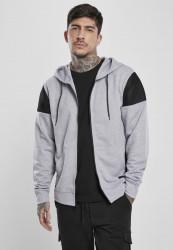 Pánska mikina SOUTHPOLE Neoprene Block Tech Fleece Full Farba: heather grey, Grösse: XXL