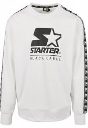 Pánska mikina Starter Logo Taped Hoody Farba: white,