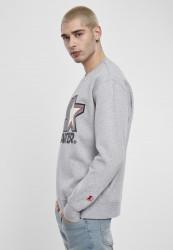 Pánska mikina Starter Multicolored Logo Sweat Crewneck Farba: heather grey,