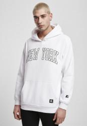 Pánska mikina Starter New York Hoody Farba: white,