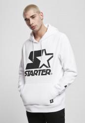 Pánska mikina STARTER The Classic Logo Hoody Farba: white,