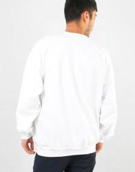 Pánska mikina Thrasher Godzilla Sweatshirt - White #1