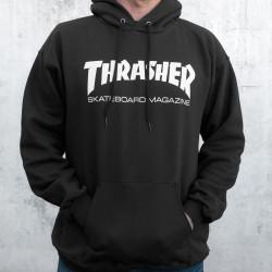 Pánska mikina Thrasher Skate Mag Hoody black Farba: Čierna,
