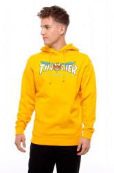 Pánska mikina THRASHER Venture Collab Hoodie gold Farba: Žltá,