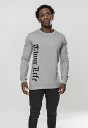 Pánska mikina Thug Life Old English Crewneck grey