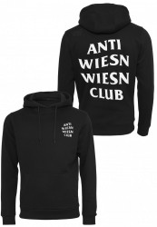Pánska mikina Turn Up Wiesn Club Black Hoody