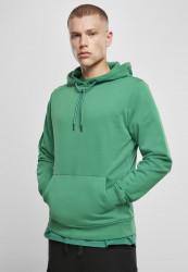 Pánska mikina URBAN CLASSICS Basic Terry Hoody junglegreen