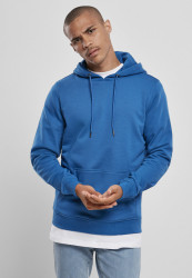 Pánska mikina URBAN CLASSICS Basic Terry Hoody sporty blue