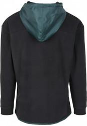Pánska mikina URBAN CLASSICS Contrast Polar Fleece Zip Hoody #6