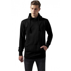 Pánska mikina URBAN CLASSICS LOOSE TERRY LONG HOODY BLACK