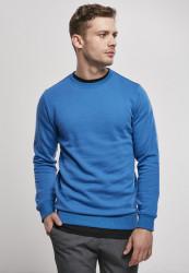 Pánska mikina Urban Classics Organic Basic sporty blue