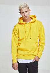 Pánska mikina URBAN CLASSICS Oversized Sweat Hoody CHORME YELLOW