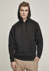 Pánska mikina URBAN CLASSICS Raglan Zip Pocket Hoody black