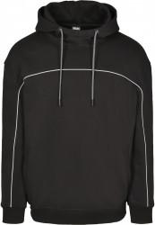 Pánska mikina URBAN CLASSICS Reflective Hoody black #4