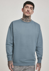 Pánska mikina URBAN CLASSICS Sweat Crewneck dusty blue