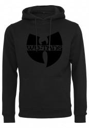 Pánska mikina Wu-Wear Black Logo Hoody