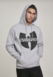 Pánska mikina Wu-Wear Logo Hoody Farba: heather grey,