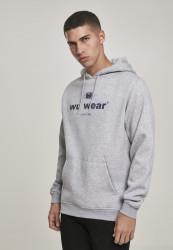 Pánska mikina Wu-Wear Since 1995 Hoody Farba: heather grey,