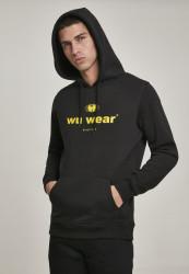Pánska mikina Wu-Wear Since 1995 Hoody Farba: heather grey, #1